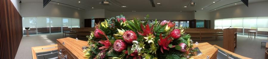 Australian funeral flowers