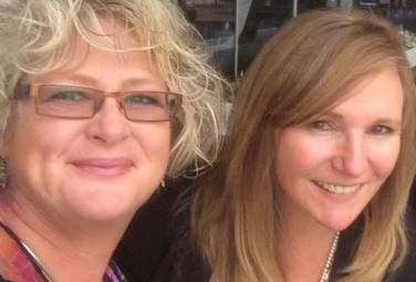 Jacqui Chaplin and Carly Dalton, founders of Death Matters are focussed on making end of life experiences (such as arranging a funeral and creating a memorable commemoration of a loved one's life)